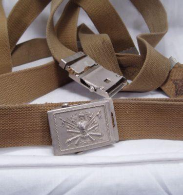 Italian Military Web Belt