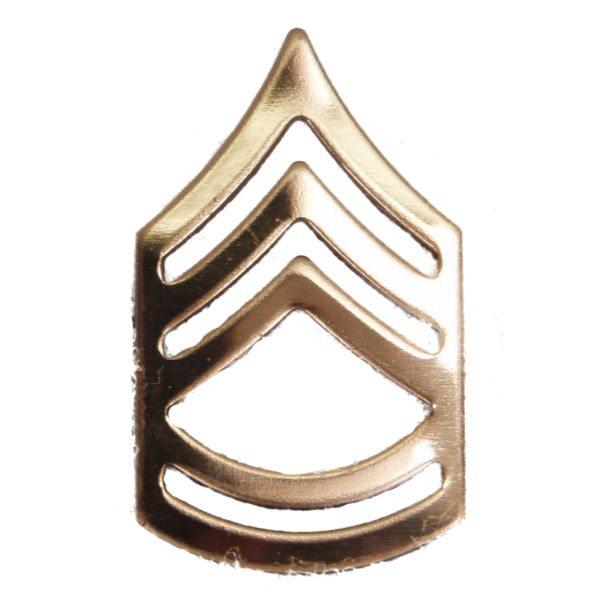 Army Pin-on Collar Rank, E-7, Sgt 1st Class