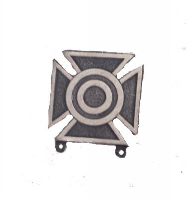 Army Sharp Shooter Badge, Silver Oxide
