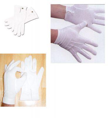 White Parade Gloves
