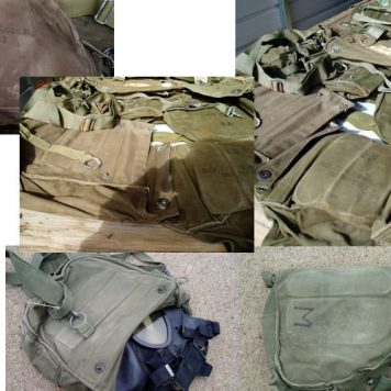 M17 Gas Mask Bag, Used