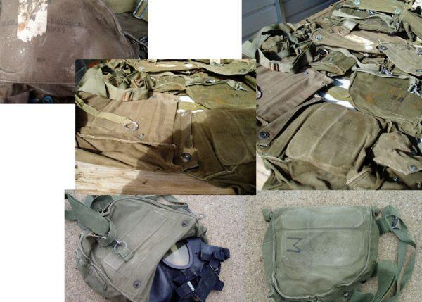 M17 Gas Mask Bag, Used