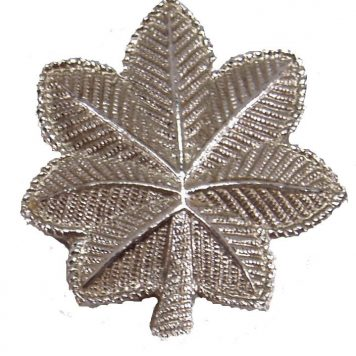 Army Pin-on Officer Rank, LT Colonel