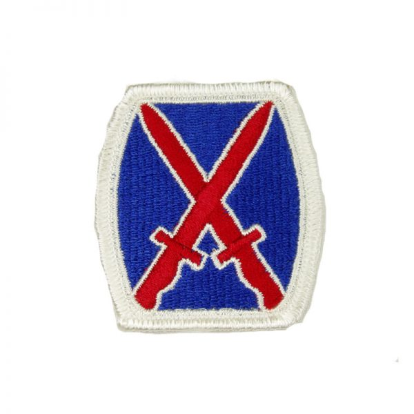 10th Mountain Patch