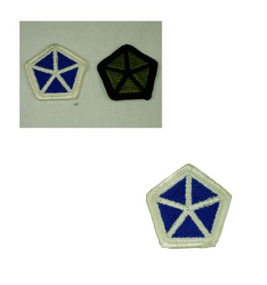 V corps Patch