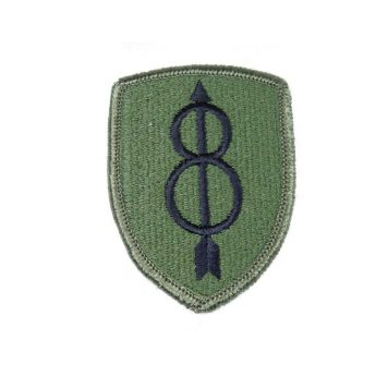 8th Infantry Subdued Patch