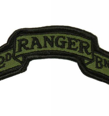 2nd Ranger Batallion Subdued Scroll