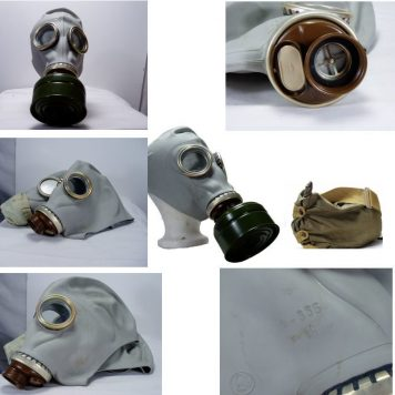 Russian Military Gas Mask