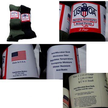 Anti-microbial Boot Sock