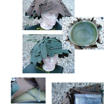 French Camo Helmet Cover