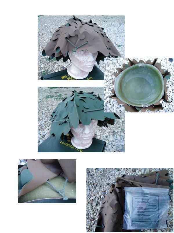 French Camo Helmet Cover