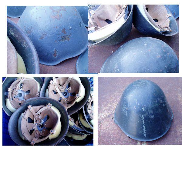 East German Steel Helmet, Used