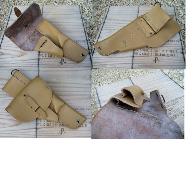 French Leather Holster