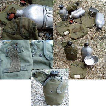 French Canteen Set Vietnam Indochina Issue