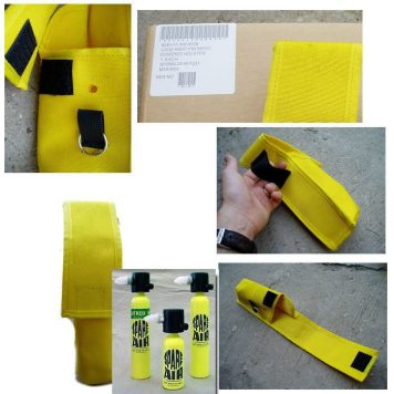 Spare Air Yellow Holster