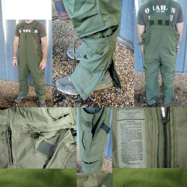Tanker And Air Crew Nomex Overalls