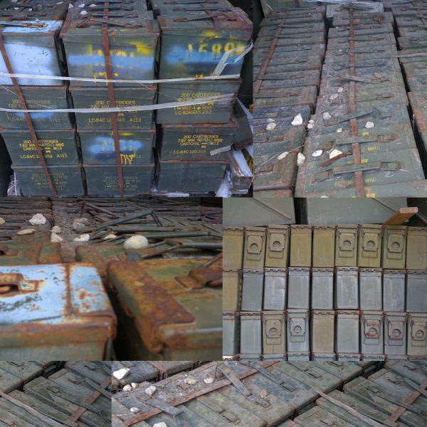 30 Cal Ammo Box, Rough