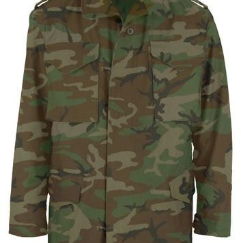 Field Jacket, Woodland Camo