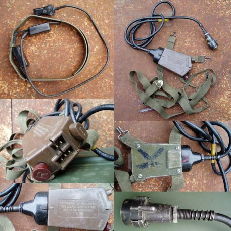 Throat Mic Assembly, West German Army