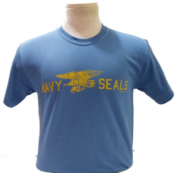 Navy Seals T-shirt Light Blue
