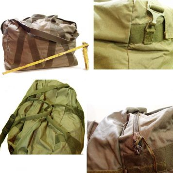 West German Pilots Duffle Bag