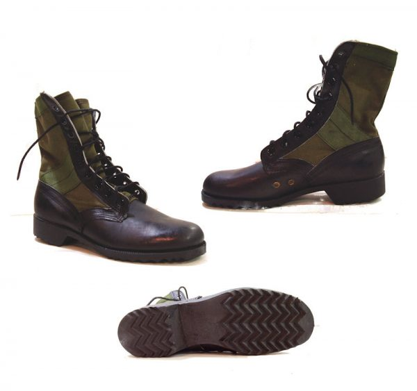 Jungle Boots With Waffle Sole 7r
