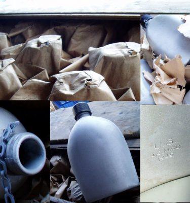 WW2 Canteen Aluminum New