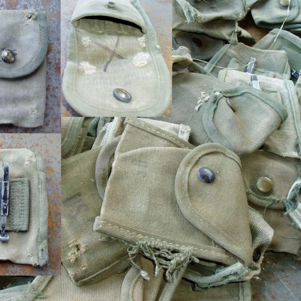 Vietnam Compass First Aid Pouch Very Used