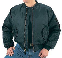 Ma 1 Flight Jacket Copy Black