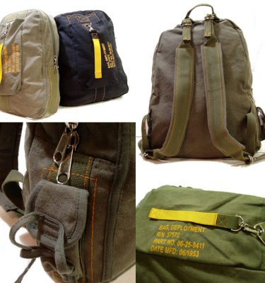 Vintage Flight Deployment Bag Sage Green