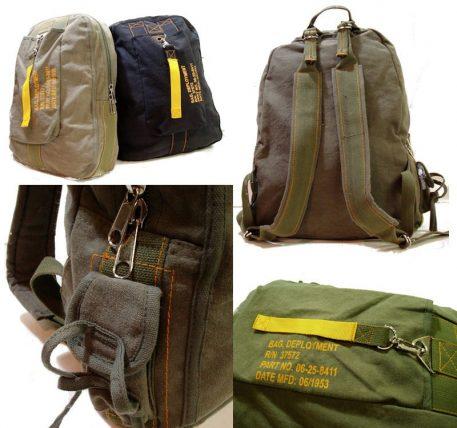 Vintage Flight Deployment Bag Sage Green
