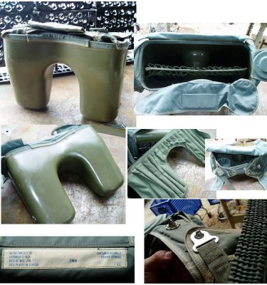 F4 Phantom Ejection Seat Drogue Container Assembly