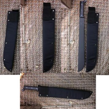 Black Nylon Machete Sheath 18''