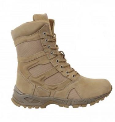 military surplus Forced Entry Side Zip Deployment Boots Desert