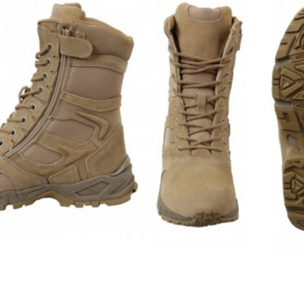 Forced Entry Side Zip Deployment Boots Desert