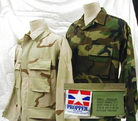 Battle Dress Uniform (bdu) Shirt ripstop