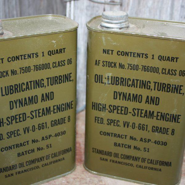 Military Lube Oil 1 Qt