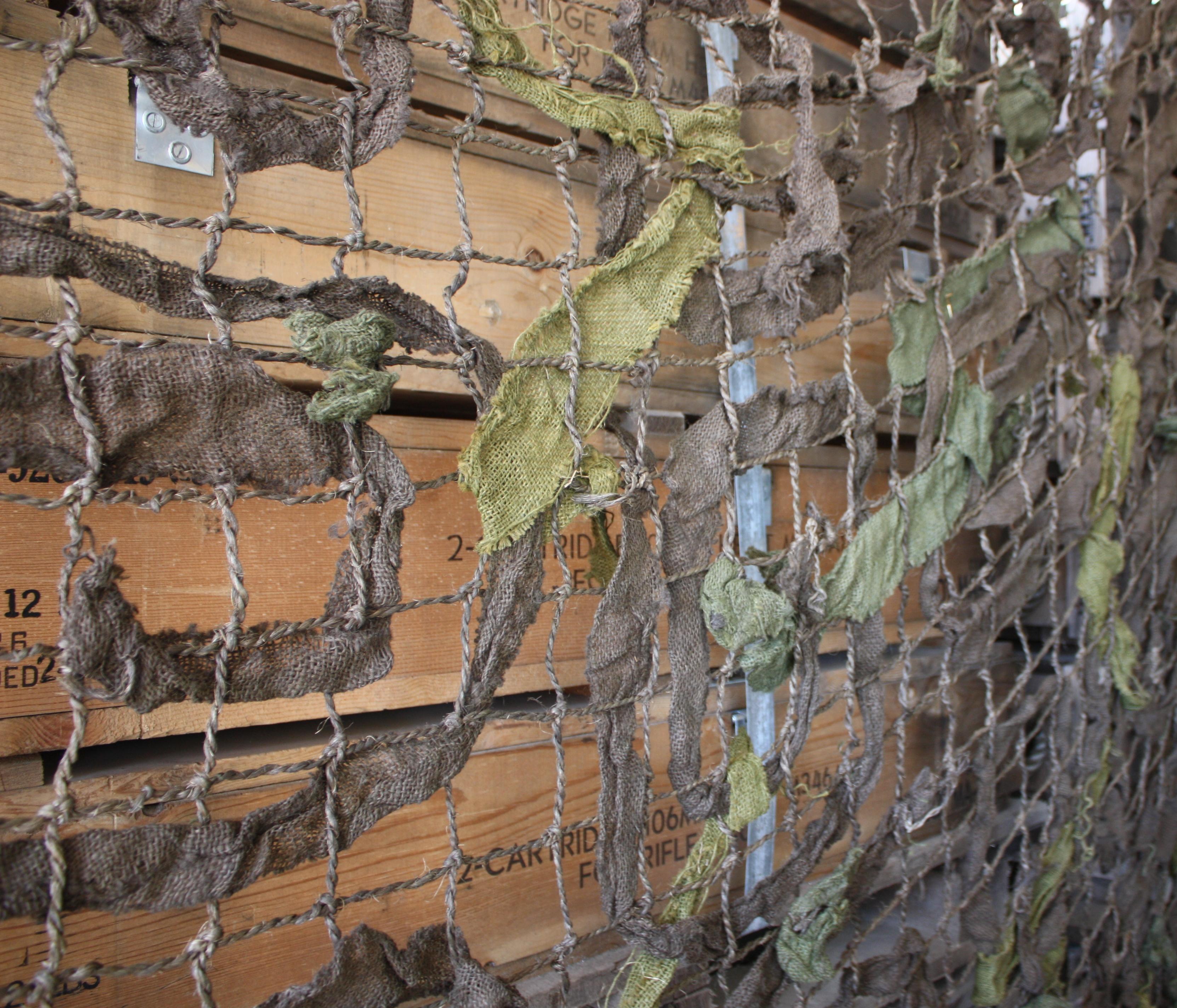 U.S. Military Surplus Mosquito Netting, Olive Drab, New