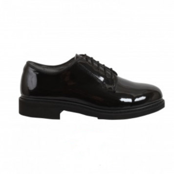 Military Leather Dress Oxfords