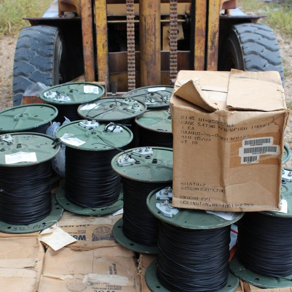 Communications Wire Spool