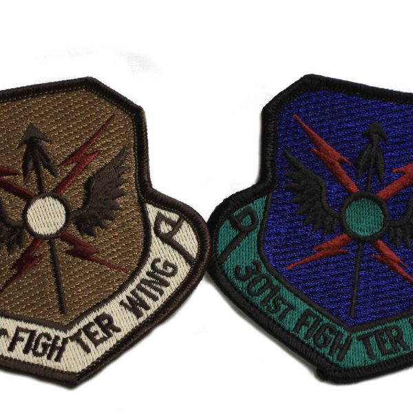 301st Fighter Wing Patch