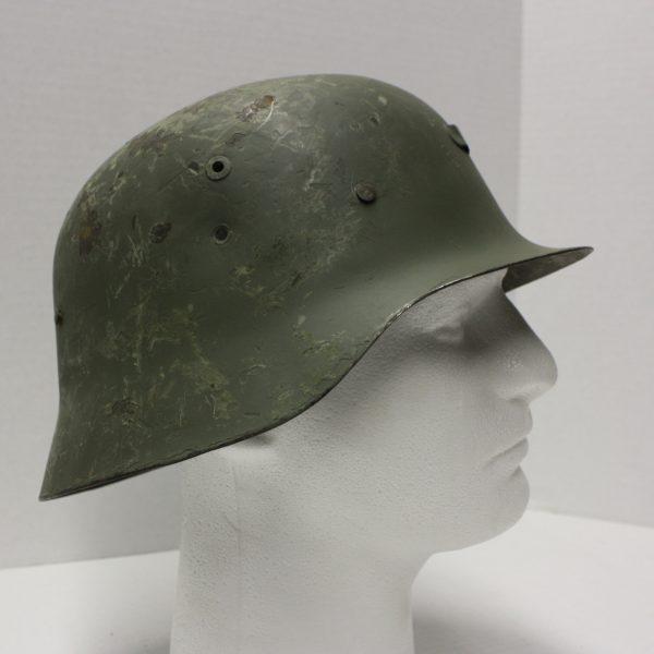 Spanish German Style Helmet, Used And Abused