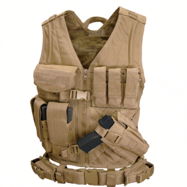 MOLLE Crossdraw Tactical Vest