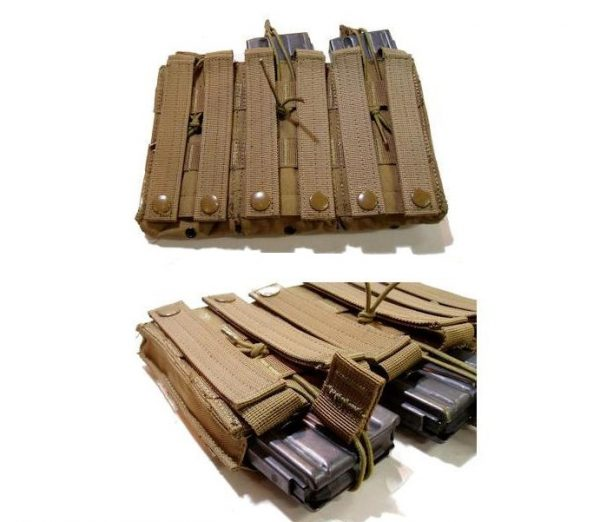 MA27 Open Top M4 M16 Triple Mag Pouch