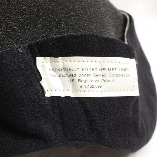 Flight Helmet Liner Cover, Black
