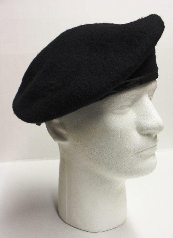 Black Army Beret, Wool