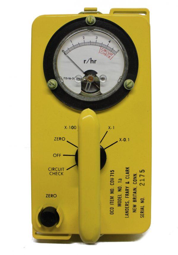 Radiological Survey Meter