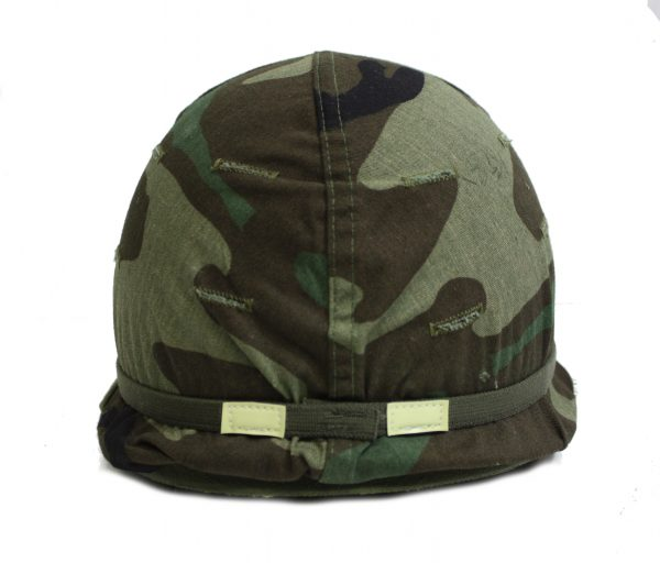 Army Helmet, M-1 Camo Woodland