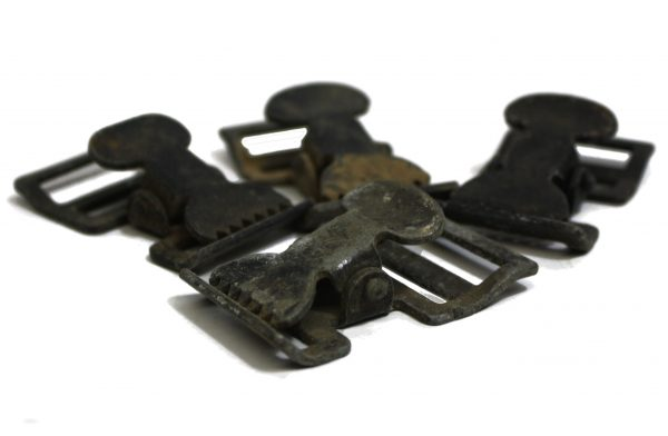 "Alligator Clip 1"" Black"