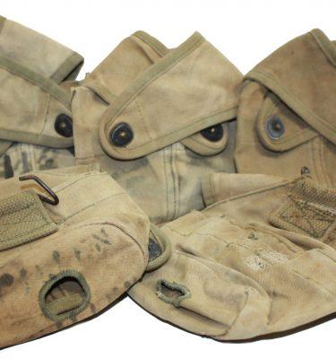 USMC WW2 Cross Flap Canteen Covers